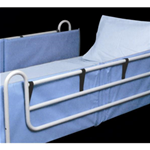 Bed Rail Pads - Bed rail pads that attach to bed rails.